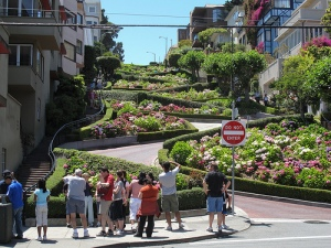 Lombard St in San Francisco
